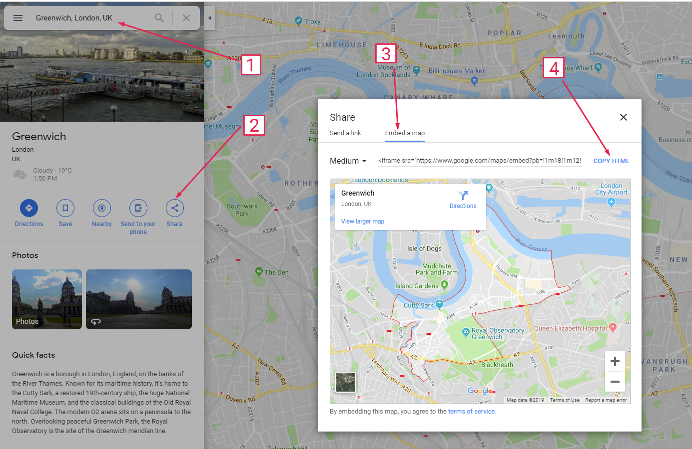 How To Embed Google Maps On Your Website Qode Help Center