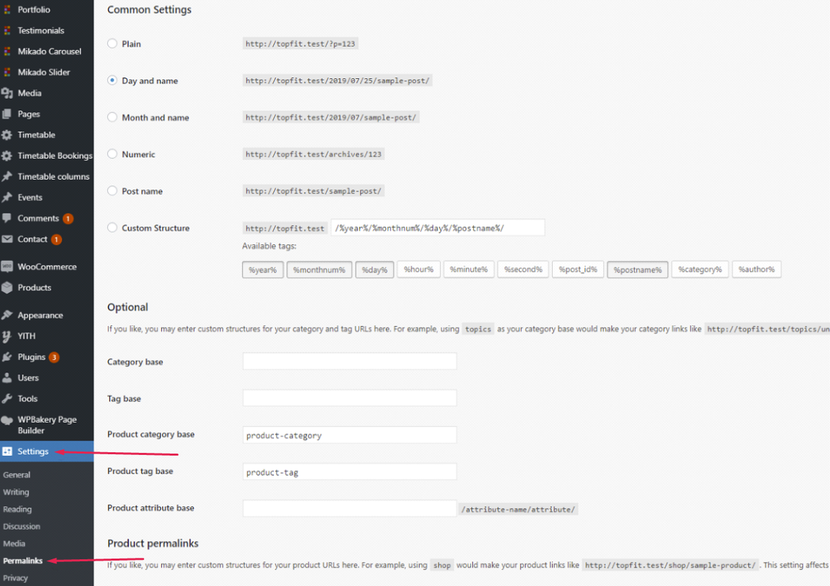 How To Change The Permalink Slugs For Your Custom Posts Qode Help Center